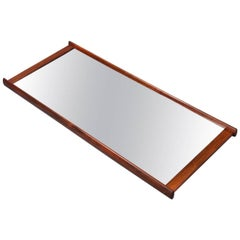 Fine and Large Mirror by Aksel Kjersgaard in Rosewood