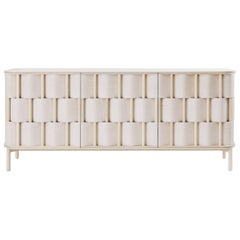 Credenza from Ringvide, Solid Birchwood and Birchveneér, Scandinavian, Weave