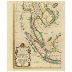 Antique Map of Southeast Asia 'Sunda Islands' by R.W. Seale, circa 1763