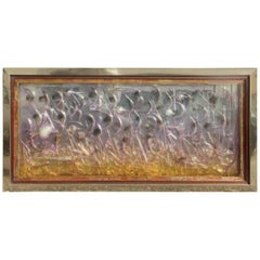 Wall Panel Particular Glass Sculpture Very Interesting
