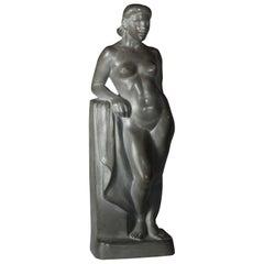 'Standing Nude 'Bather'' Herbert Palliser, 1883-1963