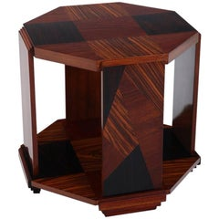 Art Deco Side Table, 1940s