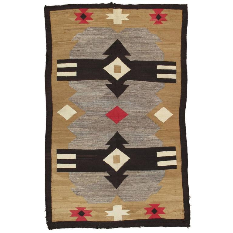 Antique Indian Rugs: Antique Navajo Rug For Sale At 1stdibs