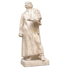 Plaster Model of Statue of Lawyer and Politician Jules Destré Early 20th Century