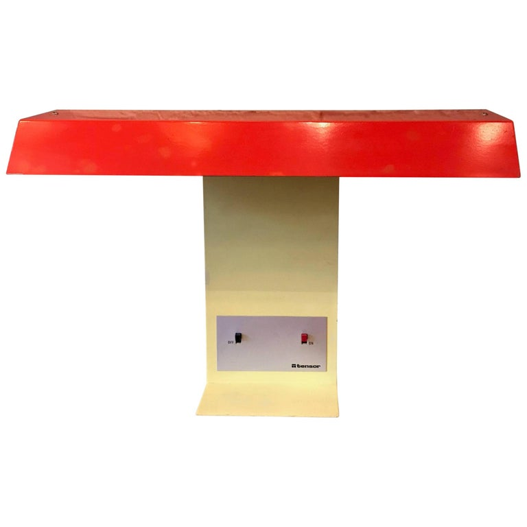 Colorful Memphis Style Desk Lamp by Tensor