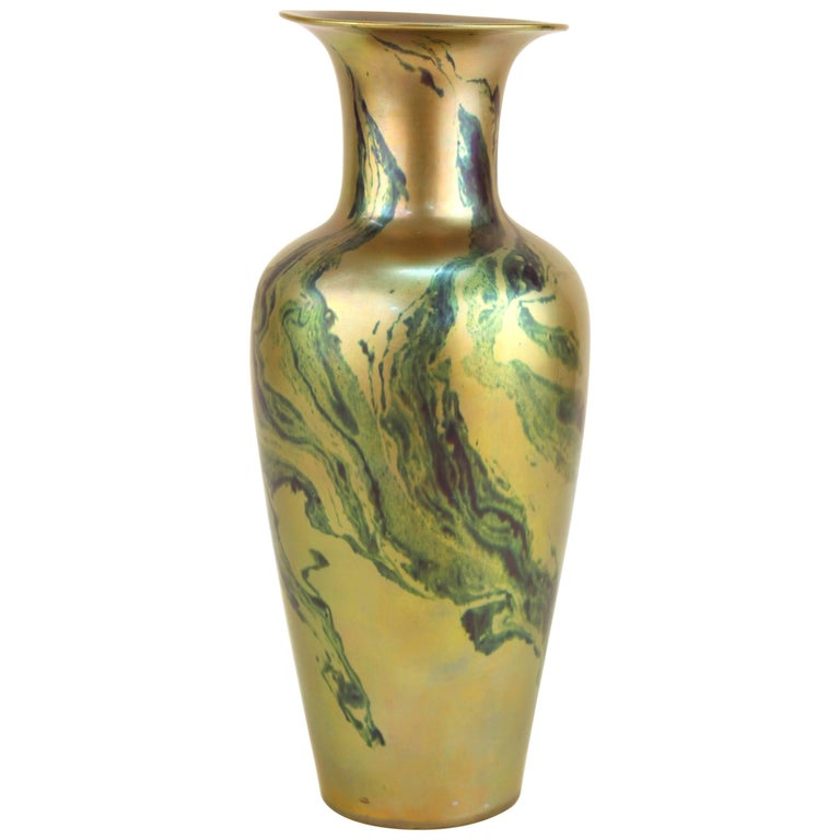 Zsolnay Pecs Luster Vase