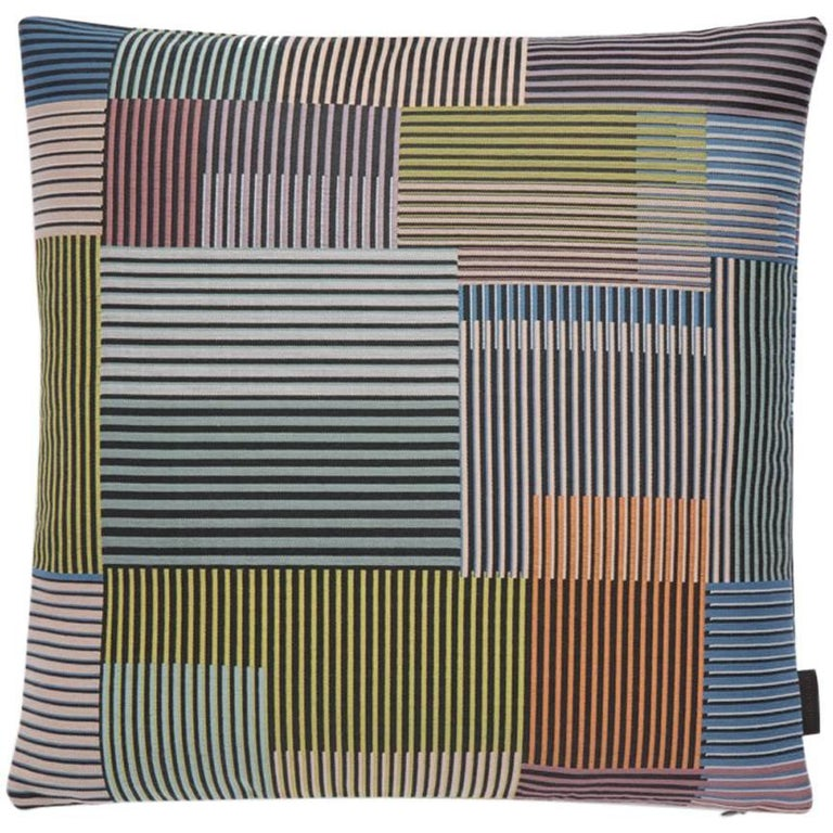 Maharam Pillow Assembled Check by Paul Smith For Sale