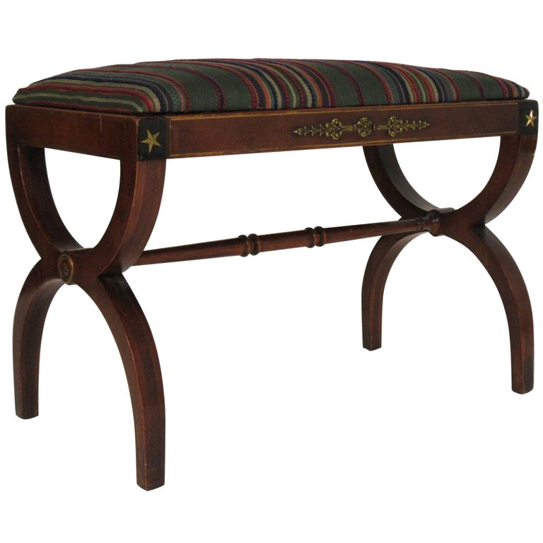 1940s Federal Style Bench