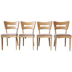 "Heywood Wakefield Mid-Century Modern ""Dogbone"" Dining Chairs, Set of Four"