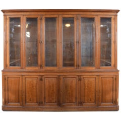 French Twelve Door Display Cabinet