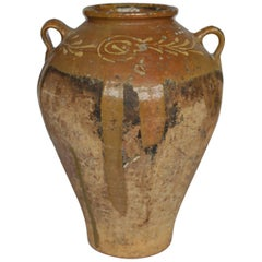 Early 19th-Early 20th Century Italian Terracotta Olive Jar, circa 1810-1910