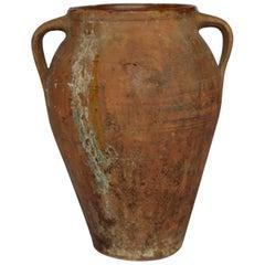 Early 19th-Early 20th Century Terracotta Italian Olive Jar, circa 1810-1910