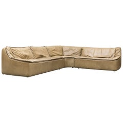 Walter Knoll Leather Sectional Sofa
