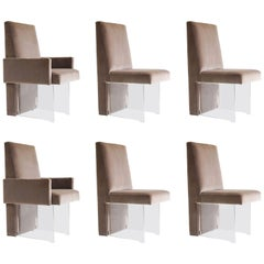 Vladimir Kagan Dining Chairs