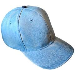 Blue Ceramic Baseball Cap
