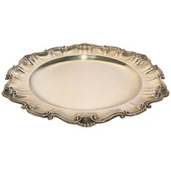 Silver Dish Plate
