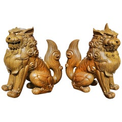 Temple Gardians Sculpture Chichi Set of Two