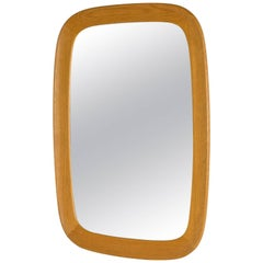 Oak Wall Mirror from Fröseke