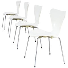 Arne Jacobsen Butterfly Chair for Fritz Hanzen, Set of Four