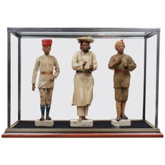 19th Century Indian Clay Figures India, circa 1870 by Jadunath Pal