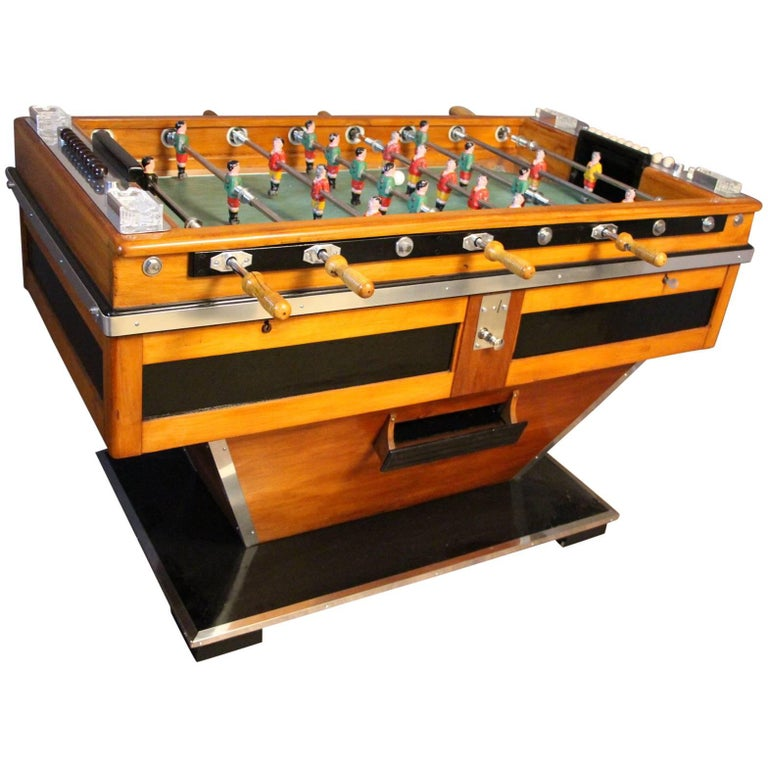 1950s Foosball Table For Sale