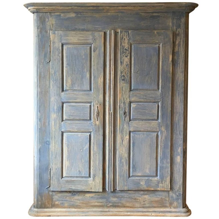 18th Century Painted Cupboard