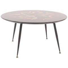 French Midcentury Low Coffee Table, by Bernard Dunand