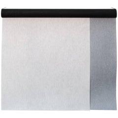 Sarkos Akli Soft Grey Texture Contemporary Hand-Painted Wallpaper