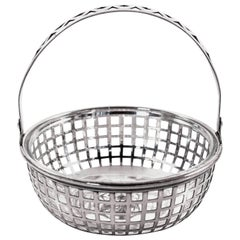 Basket with Glass Liner