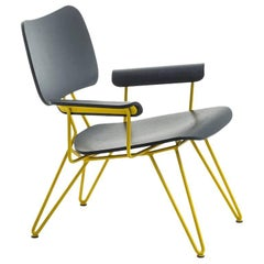 """Overdyed"" Aniline Dyed Ash Plywood and Steel Lounge Chair by Moroso for Diesel"