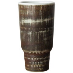 1950s Rörstrand Scandinavian Ceramic Vase