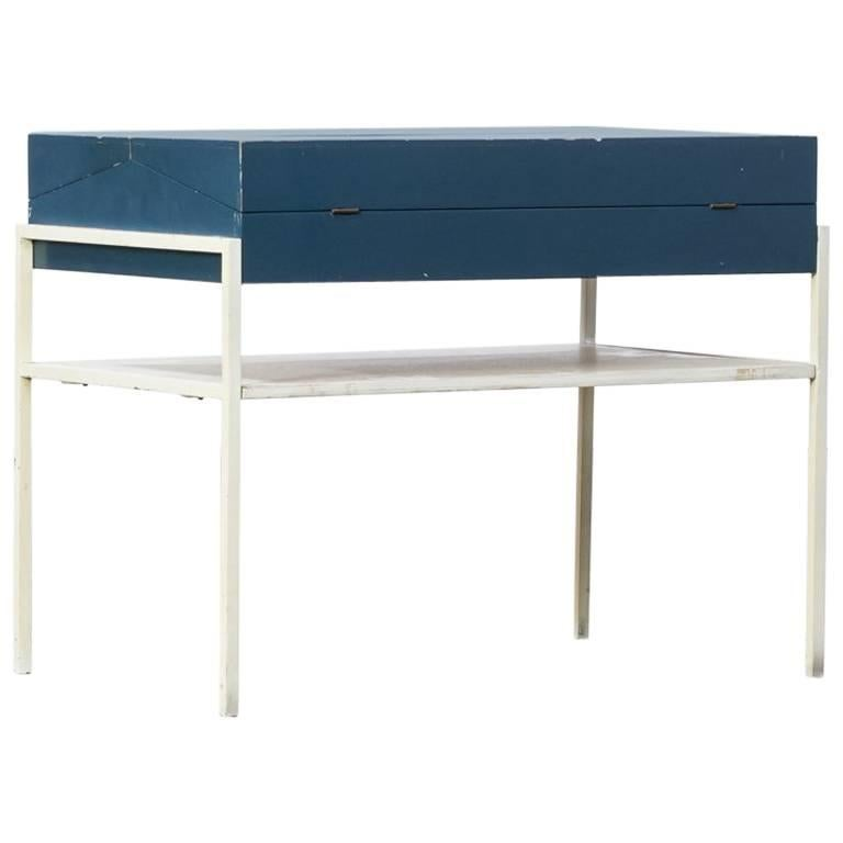 1950s Coen de Vries Sewing Box Table for Tetex
