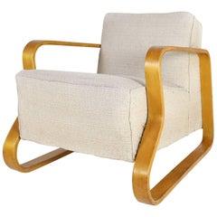 Model 44 Lounge Chair in Birch by Alvar Aalto for Finmar, 1930s