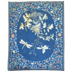 Butterfly Antique Chinese Peking Rug