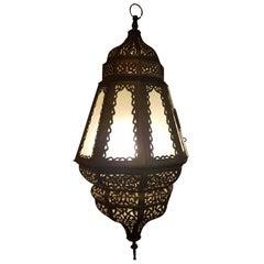 Old Fez Moroccan Lantern, Copper