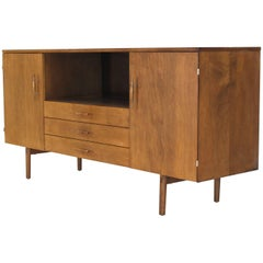 Solid Birch Planner Group Mid-Century Modern Credenza by Paul McCobb