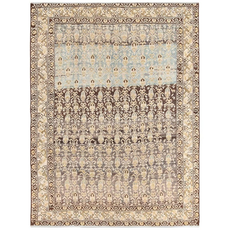 Antique Tribal Malayer Persian Rug For Sale