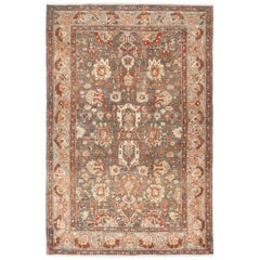 Small Size Antique Malayer Persian Rug