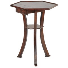 18th Century English Octagonal Side Table