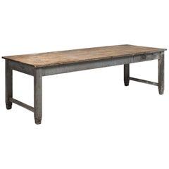 Grey Work Table, circa 1930