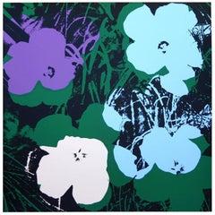 "Andy Warhol ""Flowers"" Silkscreen Print"