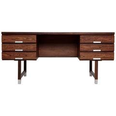 Kai Kristiansen 1960s Rosewood Desk, Denmark