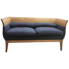 Orlando Diaz-Azcuy Designed Chalice Settee for HBF Furniture