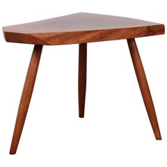 Walnut Side Table by George Nakashima