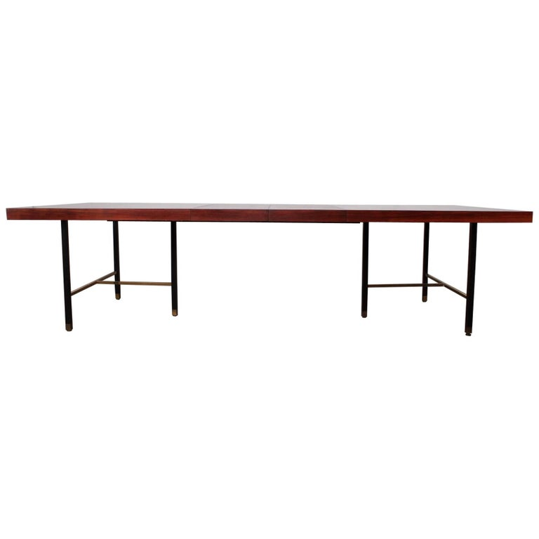 Rosewood Dining Table by Harvey Probber