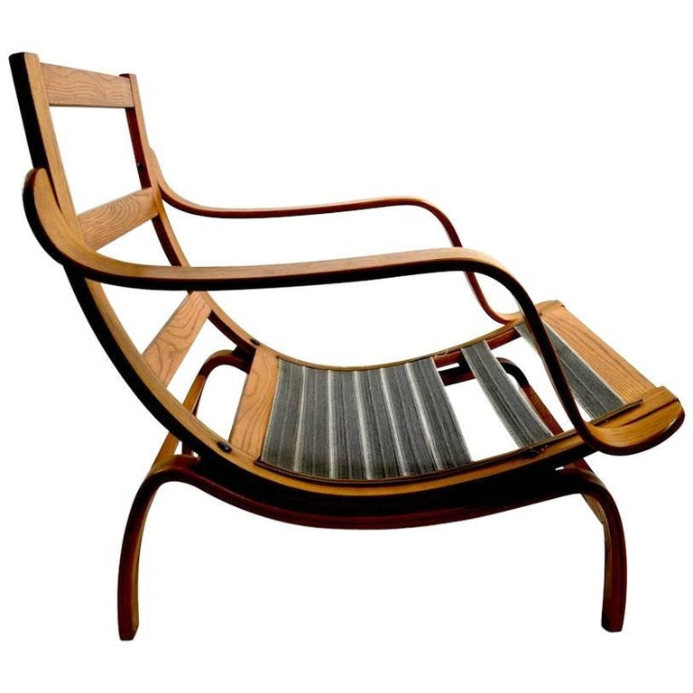 Bent Ply Lounge Chair after Bruno Mathsson For Sale