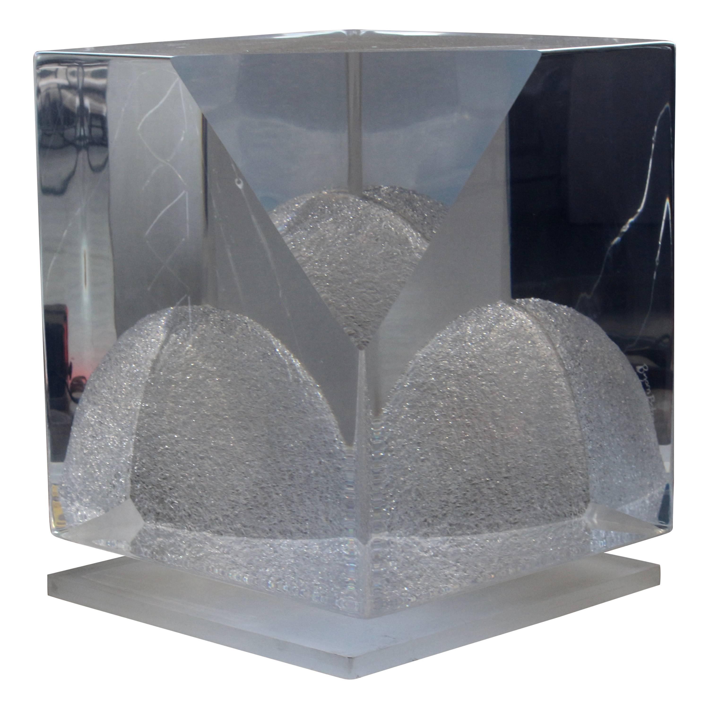 Bijan Bahar Lucite Sculpture