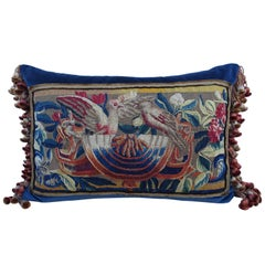 17th Century Flemish Tapestry Pillow by Melissa Levinson