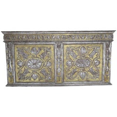 19th Century Italian Gold and Silver Gilt Panel