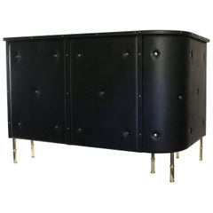 1950s Jacques Adnet Bar